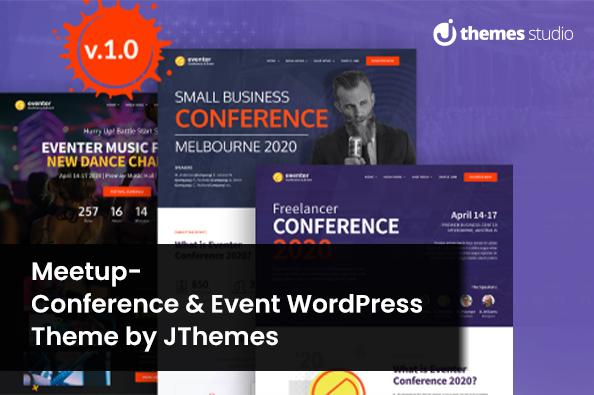 Meetup & event wordpress theme